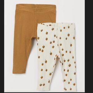 (NWT) H&M baby girls leggings